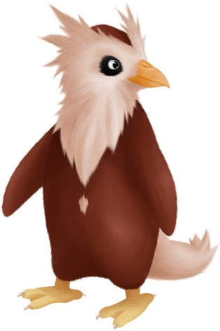 Delibird portrayed in a more realistic style by Luckybaka (http://luckybaka.deviantart.com/).  I sort of wanted a picture of a fake Delibird evolution, but I couldn't find any that I liked; this is very well done, though.