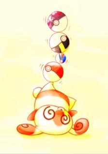 Norikumi (who has a great deal of brilliant Pokémon fanart at http://norikumi.deviantart.com/) shows us what Spinda does for fun: be ridiculous.